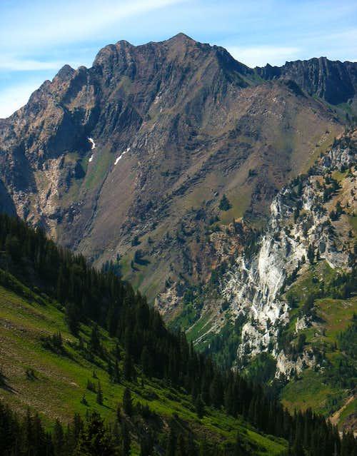Mount Superior over Alta