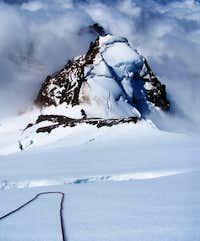 High on Mt. Baker