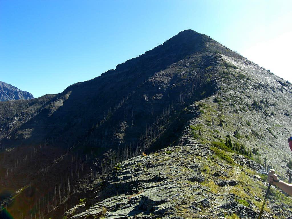 Stanton Mountain enroute to Mount Vaught