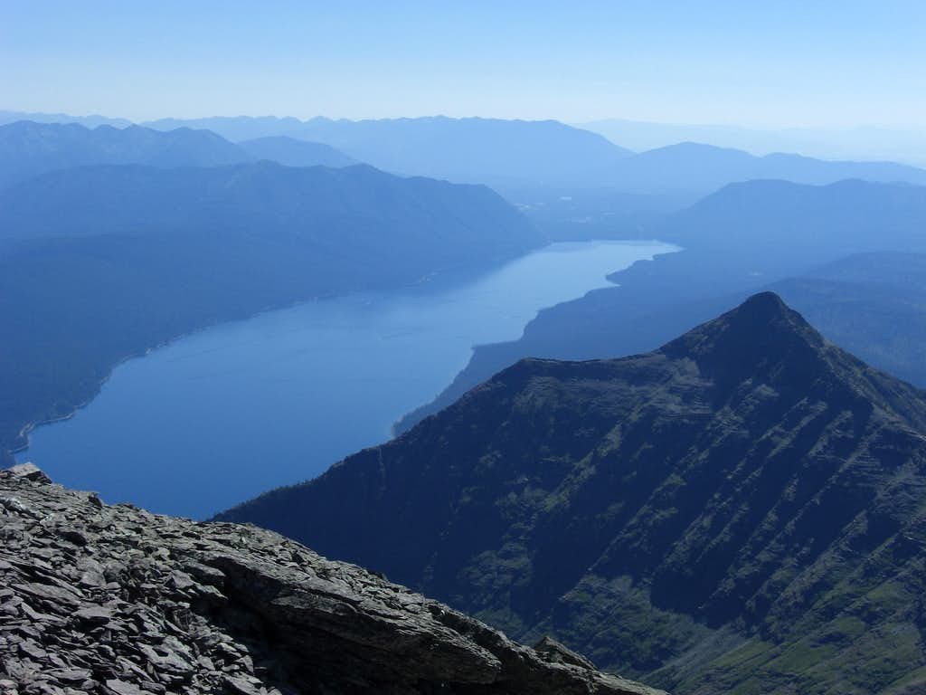 Lake McDonald from Vaught
