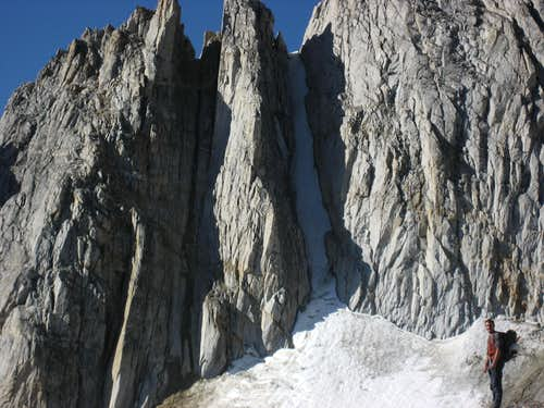 North Peak Couloirs