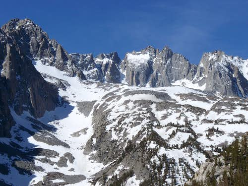 North Palisade Massif