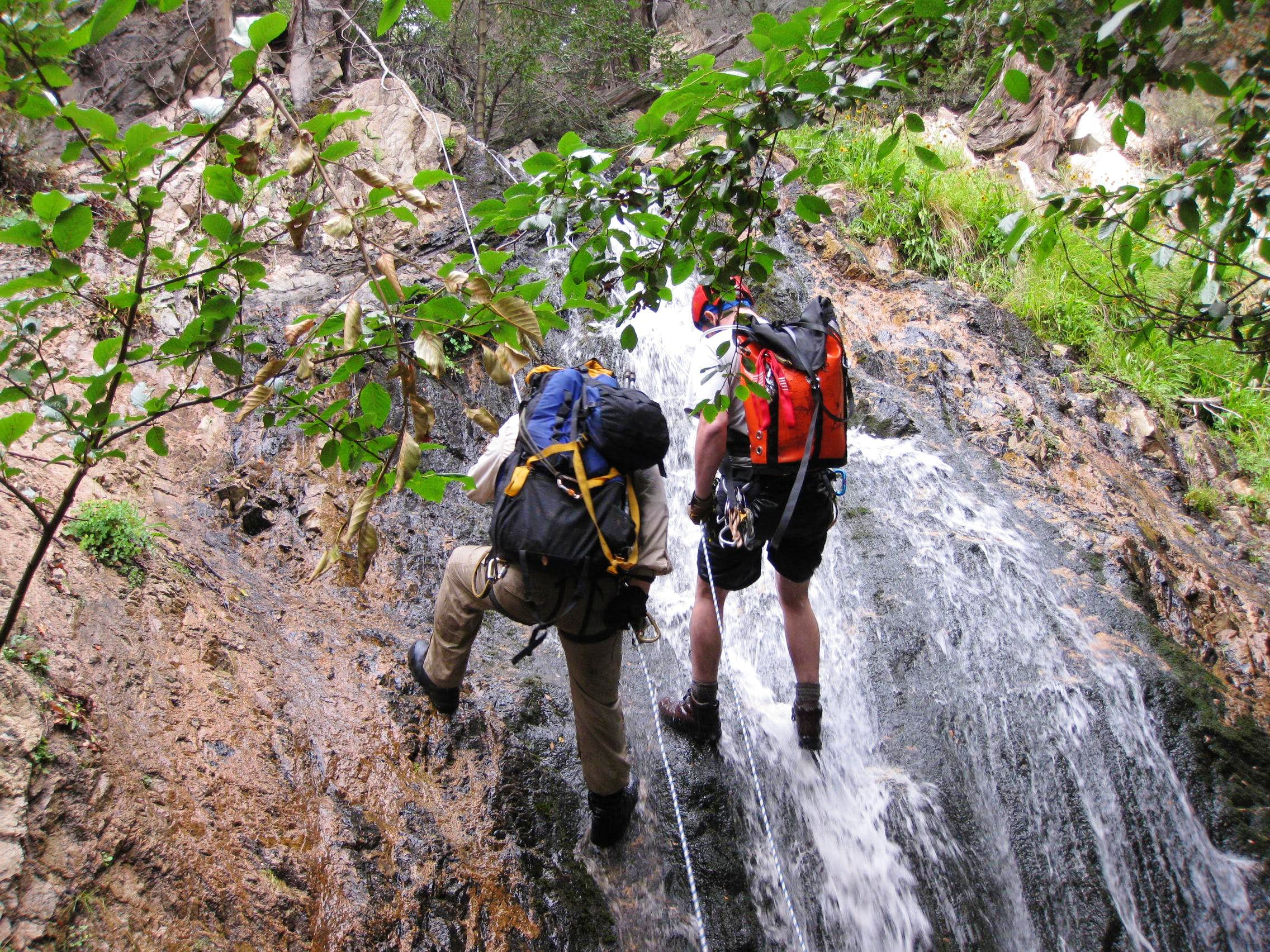 Canyoneering Adventure in the  San Gorgonio Wilderness
