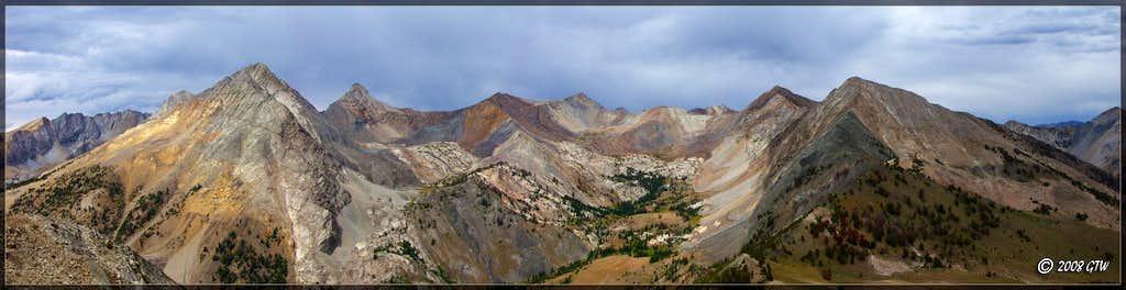 Peak of the Unknown's Summit Panoramic