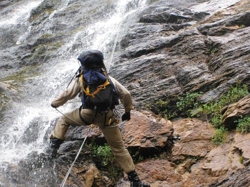 Canyoneering in San Gorgonio Wilderness Area