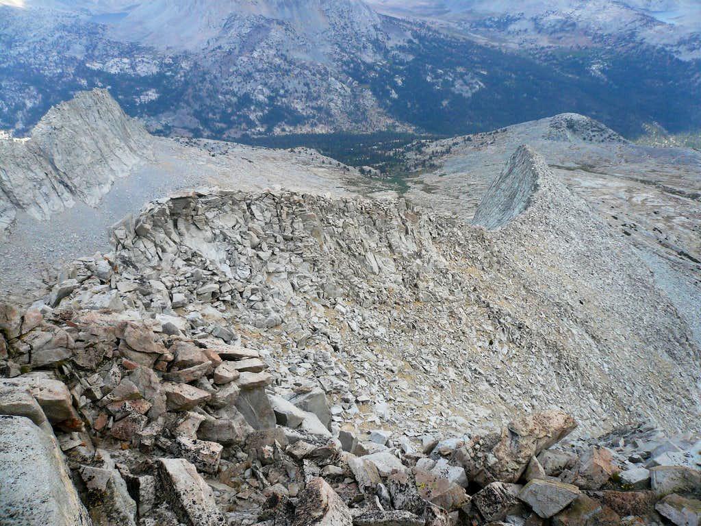 Mt Ruskin's East Ridge