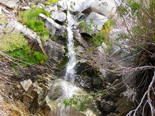 Waterfalls in Vivian Creek