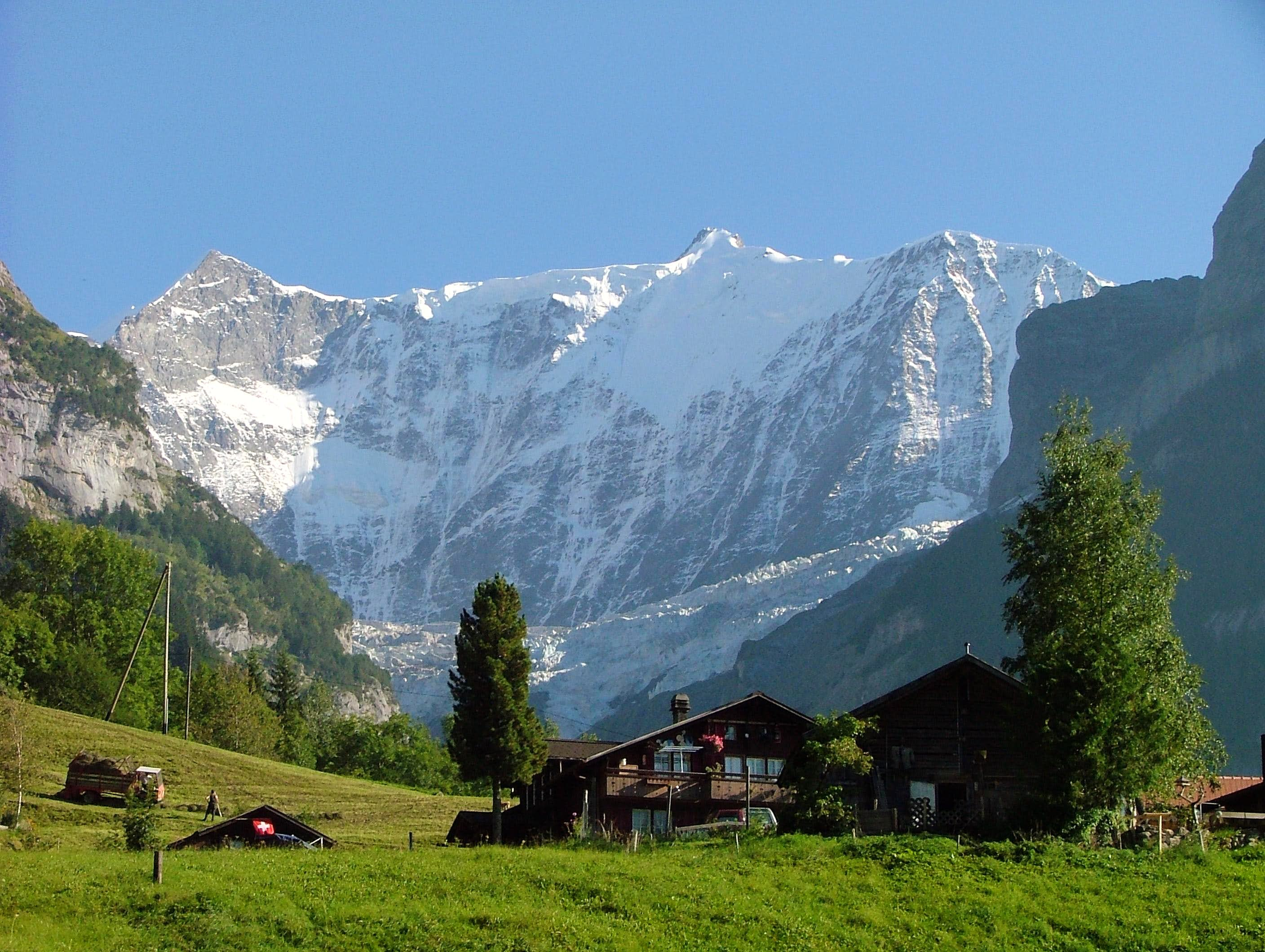 Bernese Alps in late summer