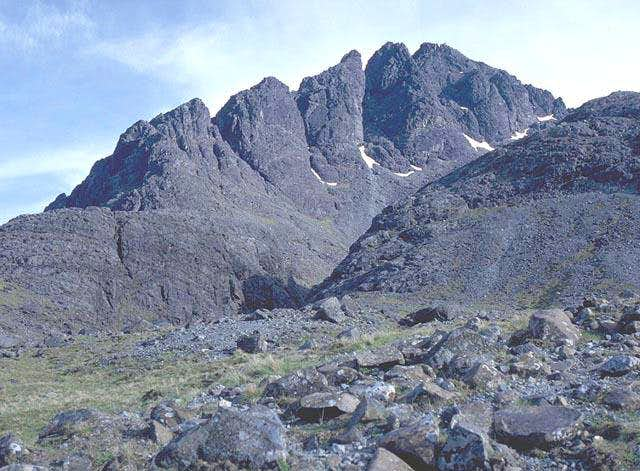 The Pinnacle Ridge of Sgurr...
