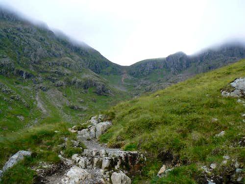 Latter reaches of Coire Gabhail
