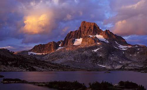 Alpenglow on Banner Peak