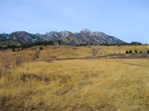 South Boulder Peak (on left)...