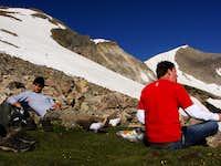 Lunch Break for Mt. Sopris