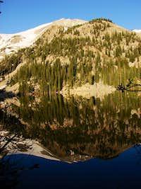 Mt. Sopris reflection on Thomas Lake