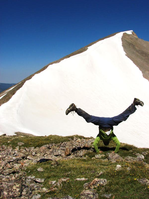 Handstand for Mt. Sopris