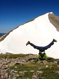 Handstand for Mt. Sopris