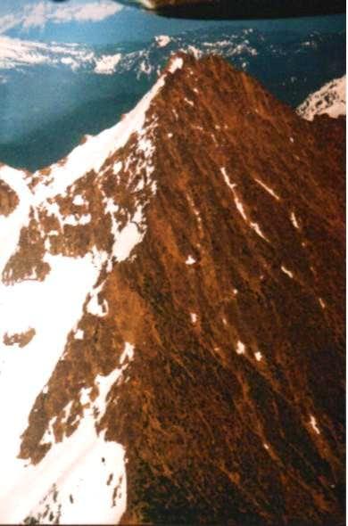 West ridge of North Twin...
