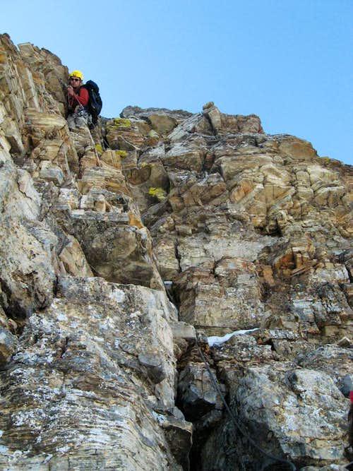 Climbing the grey band