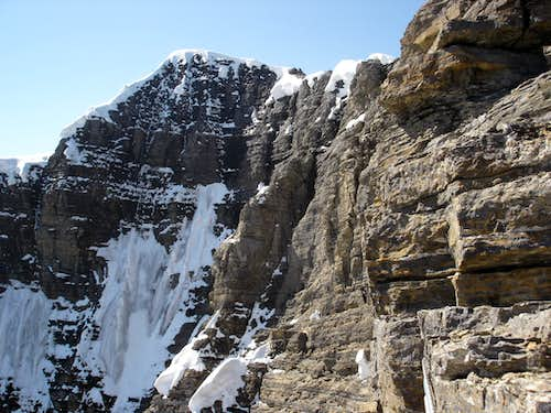 East Face Mount Assiniboine