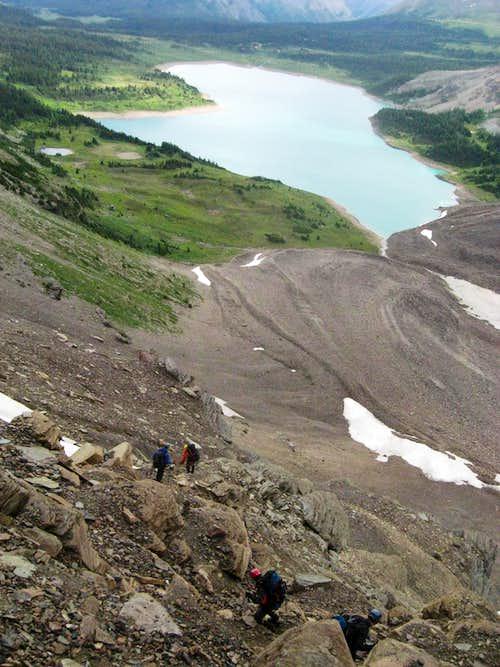 Descent of Gmoser Highway
