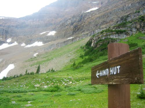 Route to Hind Hut