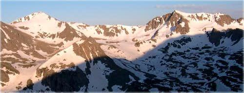 Jasper Peak (left) and Mount...