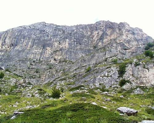 Face of Lower Radomir Rock