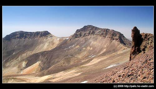 Aragats, south and west peak