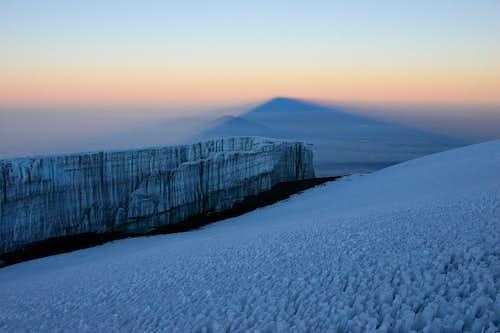 Kilimanjaro icefield