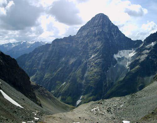 Piz Linard NE ridge