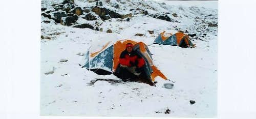 Tent at Camp II