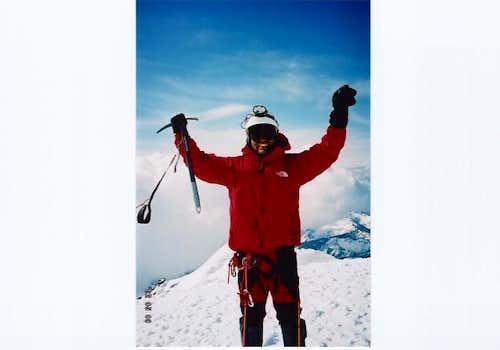 Mt. Baker Summit.