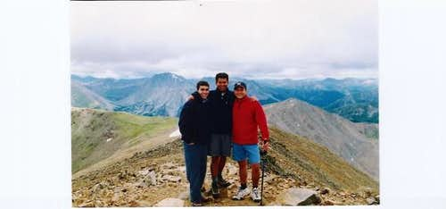 Mt. Elbert Summit.