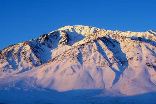 Sunrise on Mount Tom