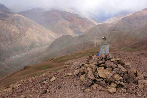 cairn on the sumit