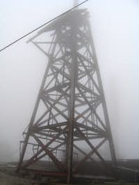 Tower at Summit of Mount Washington