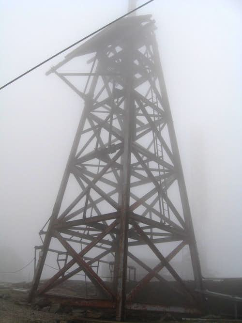 Tower at Summit of Mount Washington