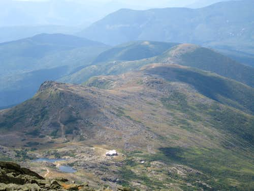 View of Southern Presidentials from Washington\'s Summit
