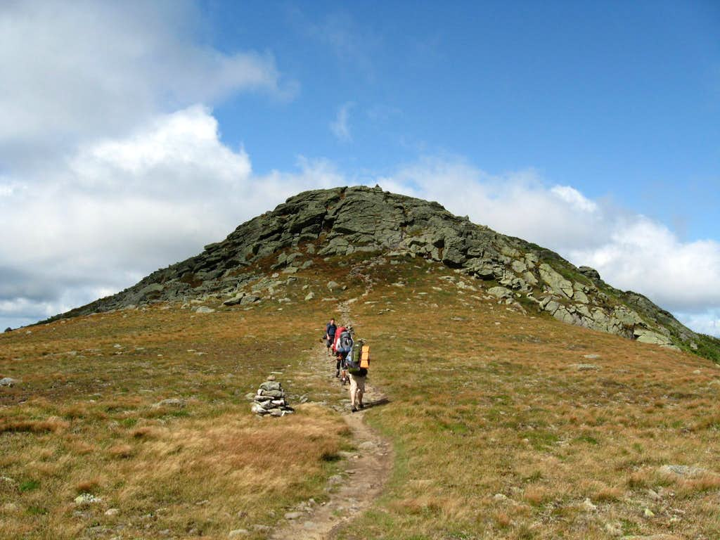 Ascending Mount Clay