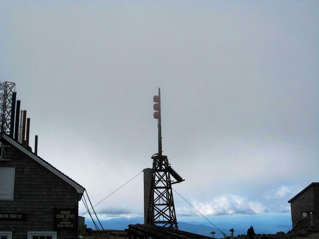 Tower On Mount Washington Summit