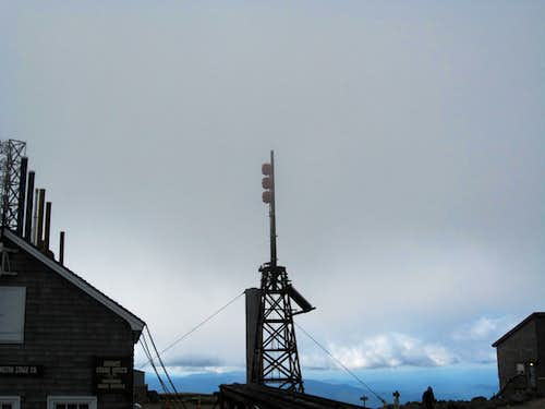 Tower On Mount Washington Summit