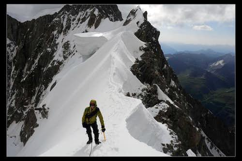 Me on the Rochefort Ridge.