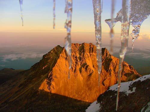 Icecles and Illiniza Norte..