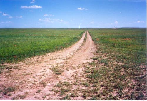 The road to the summit of Panorama Point (2003)