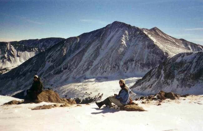 Near the summit of Cupid on...