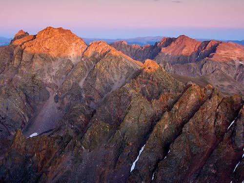 Willow Peak and Red Peak