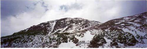 Stuck on S. Arapaho Peak in the snow