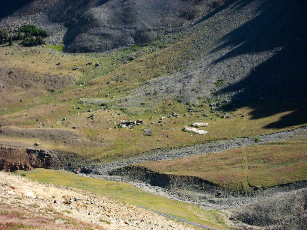 Abandonded cabin by Spar Creek