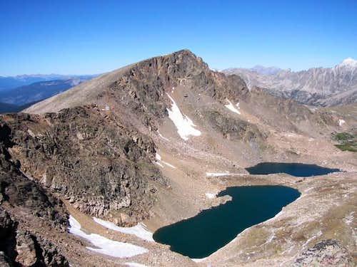 Looking back on Mount Neva...