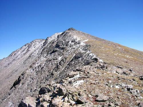 "Lovely ""Jasper Peak\'s"" summit..."